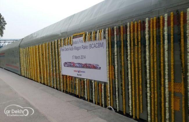 Flexi deck Auto-Wagon - An initiative by Maruti Suzuki and Indian Railways