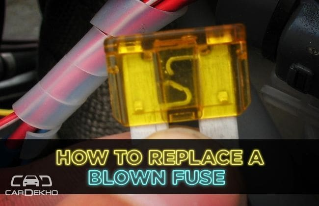 How to replace a blown fuse