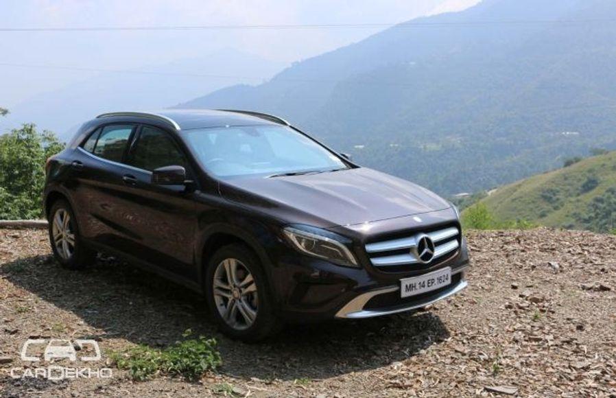 Mercedes-Benz GLA Class Road Test Images