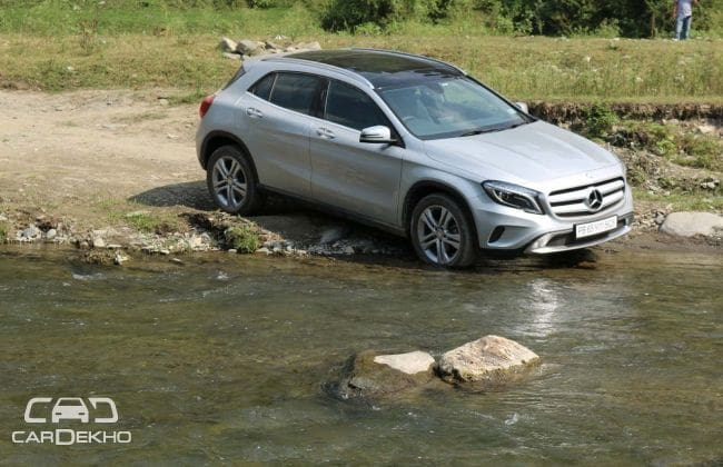 Mercedes-Benz GLA Class Road Test Images