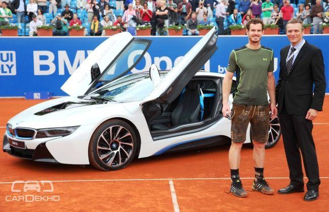 Andy Murray wins a BMW i8