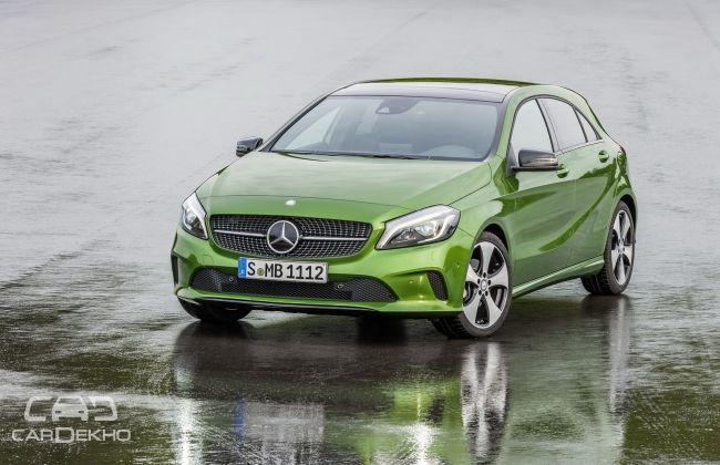 IMAGE_1: Mercedes-Benz A-Class Facelift