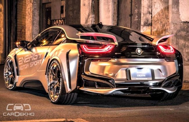 BMW i8 Cyber Edition Rear