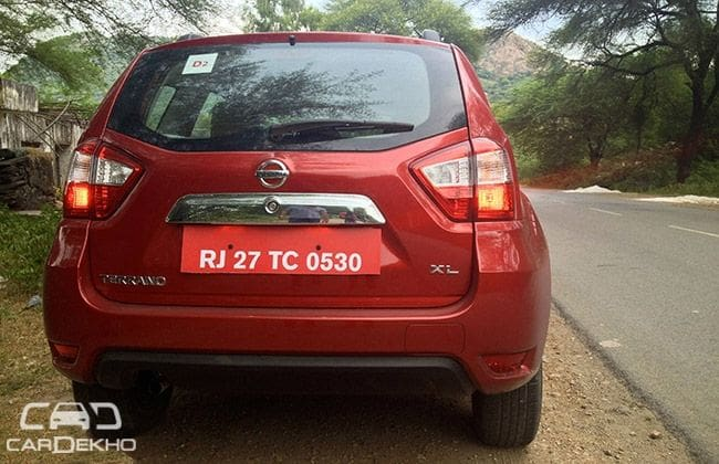 Nissan Terrano Road Test Images