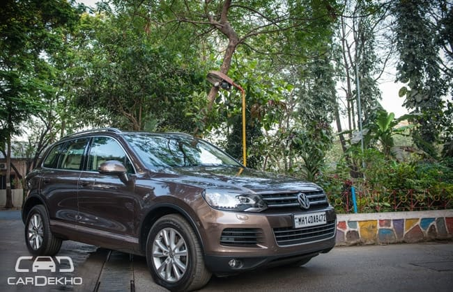 Volkswagen Touareg Road Test Images