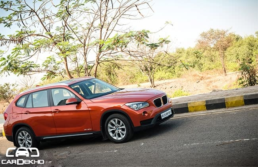 BMW X1 Road Test Images