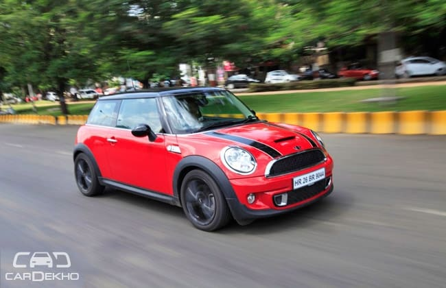 Mini Cooper Road Test Images