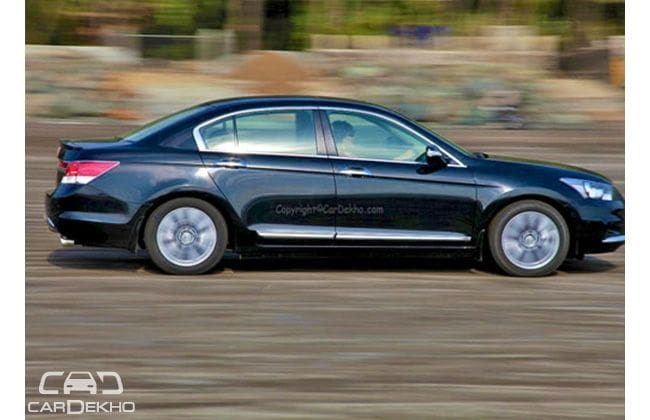 Honda Accord Road Test Images