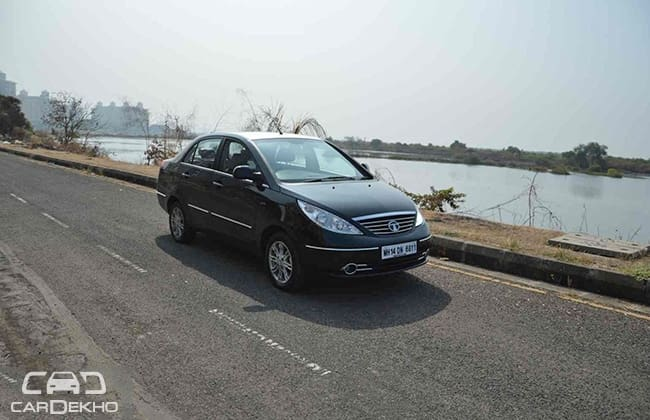 Tata Manza Road Test Images