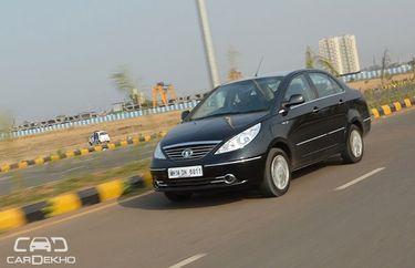 Tata Manza Road Test Images