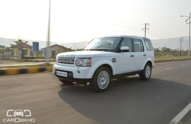 Land Rover Discovery 4 Road Test Images