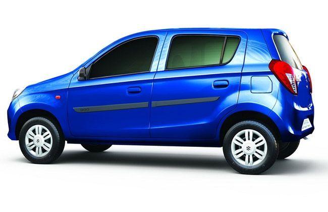 Maruti Suzuki Announces Driver Airbag for Alto Series