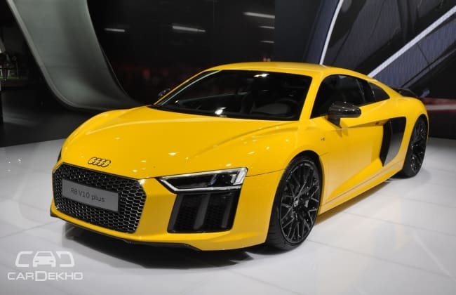 The Audi R8 V10 Plus Is Very Fast But You Can Catch It Here