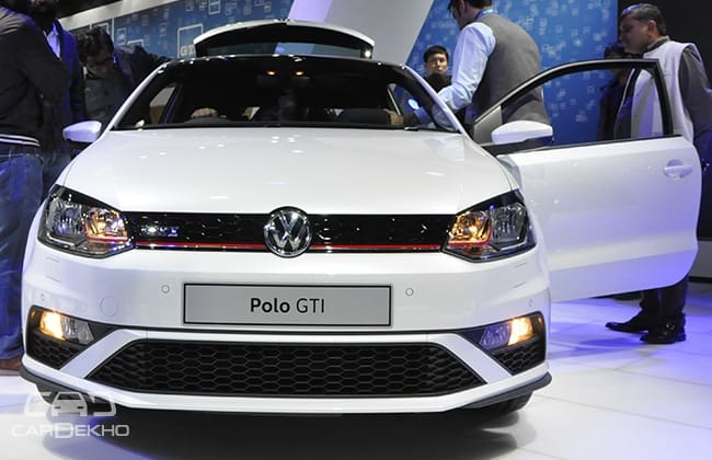 Volkswagen Polo GTI Front