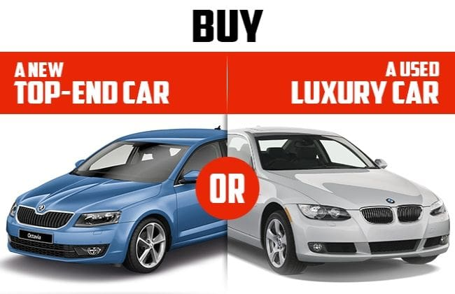 Got 18 Lakhs Decide Between A New Or A Used Luxury Car Buying And