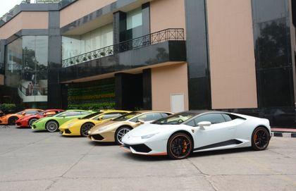 Lamborghini Holds First Super Sports Car Drive For Women In India