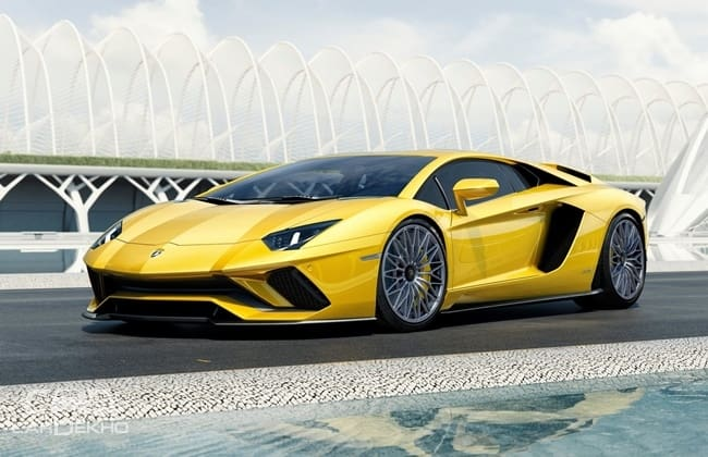 Unveiled Lamborghini Aventador S India Launch Likely In April 2017