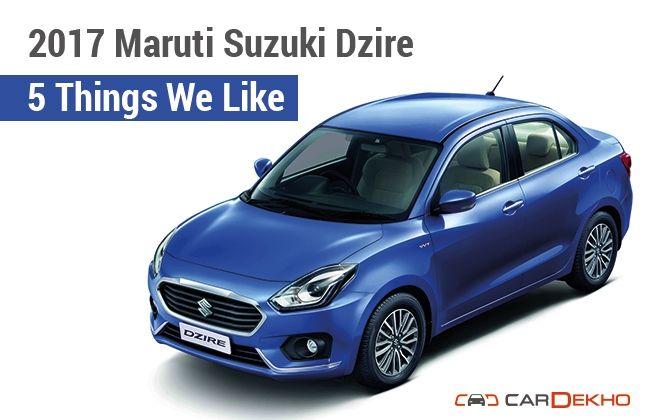 Maruti Suzuki Dzire
