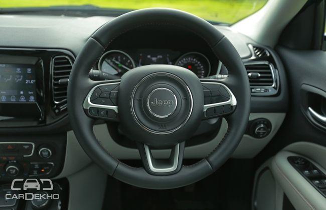 Jeep Compass Steering Wheel