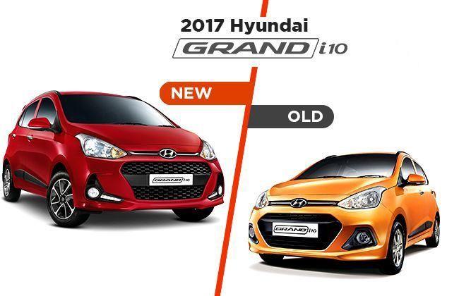 Hyundai Grand i10: Old Vs New