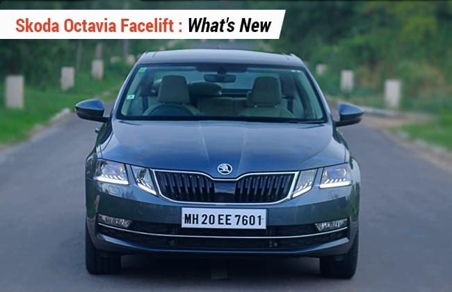 Skoda Octavia Facelift Whats New Cardekho