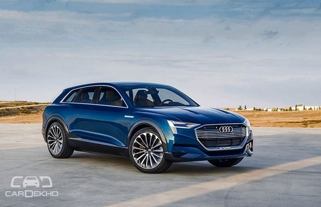Audi India Could Launch An EV By CarDekhocom - Audi ev