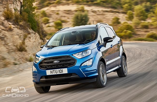 New 15l Diesel 6 Speed Manual For Ecosport Facelift In Europe Are