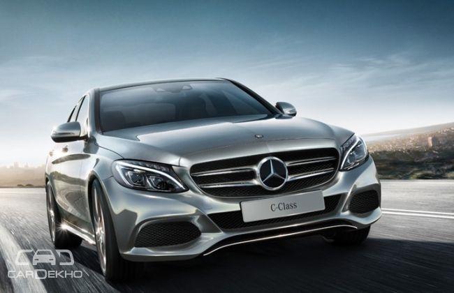 Pre-facelift Mercedes-Benz C-Class (current)