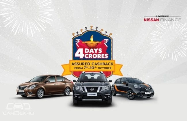 Nissan And Datsun Diwali Offers