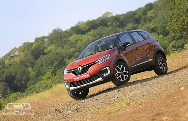 Renault Captur - the latest crossover in India