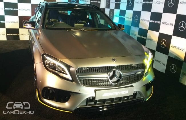 Mercedes Benz GLA45 AMG Facelift