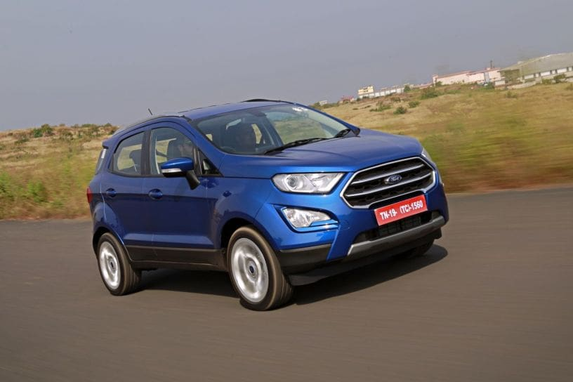 Ford EcoSport facelift