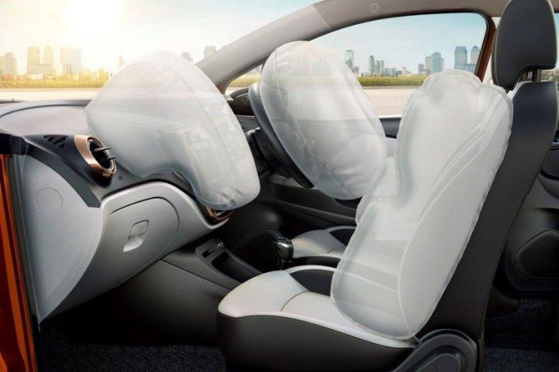 Renault Captur: Airbags