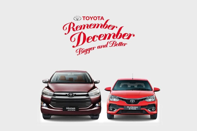 Toyota year-end offers