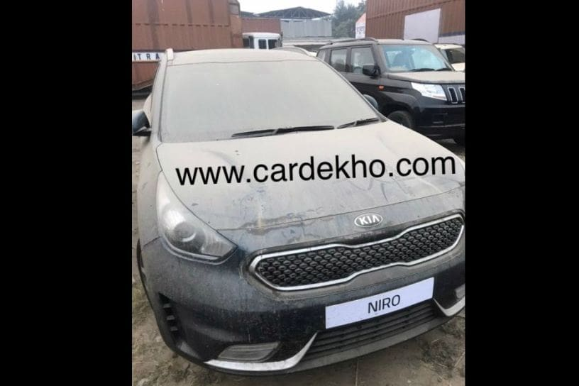 Spotted Kia Niro Sportage In India For Auto Expo Appearance