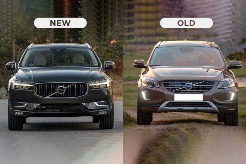 Volvo XC60 - New vs Old