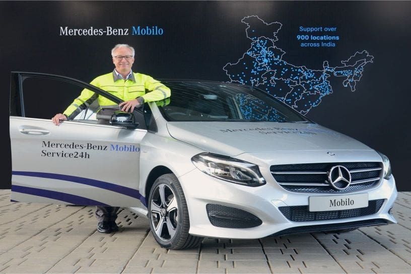 Mercedes Benz India Has Come Up With A New Initiative For Its Buyers In The  Country, Mobilo Assistance Service. The 24x7 Roadside Assistance (RSA)  Service ...