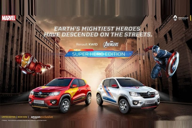 Renault Kwid Super Hero Editions