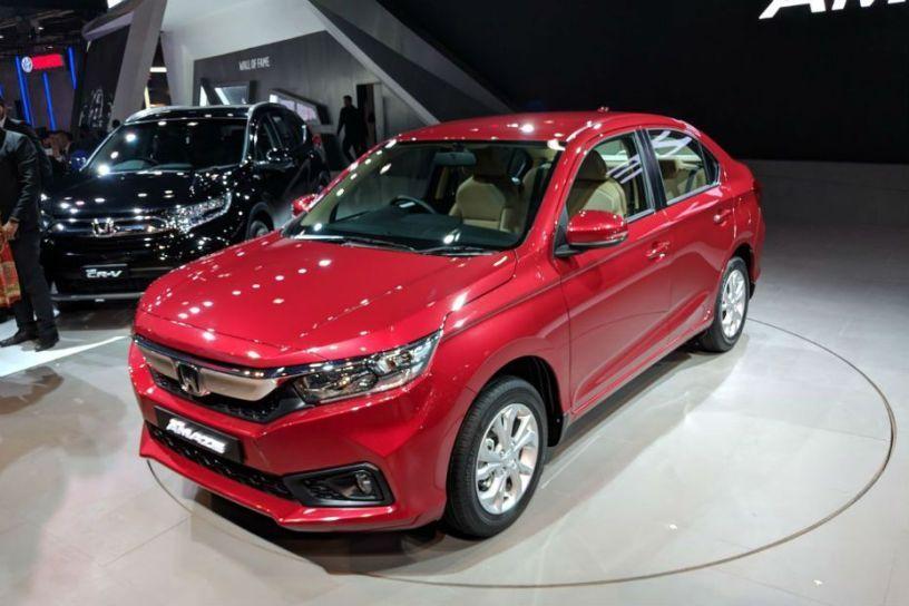 New Honda Amaze Showcased At Auto Expo 2018 Cardekho Com