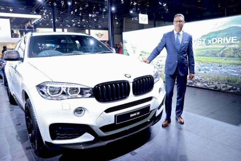 2018 Bmw X6 35i M Sport Launched At Auto Expo 2018 Cardekho Com
