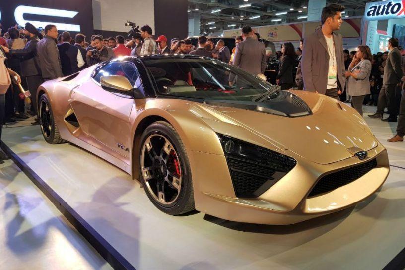DC Unveils Hot New Sportscar At Auto Expo CarDekhocom - 2018 car show dc