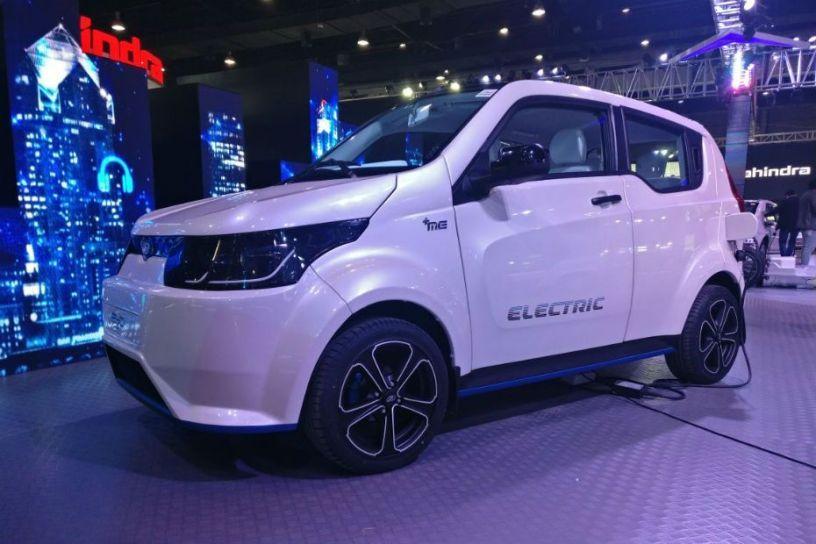 Auto Expo 2018: Mahindra's e2o NXT (Facelift) Unveiled