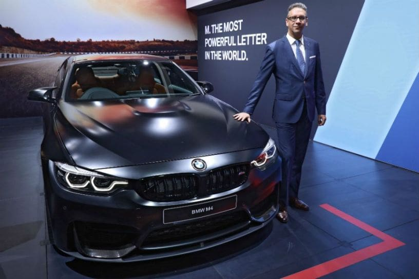 BMW M Sedan And M Coupe Launched At Auto Expo CarDekhocom - Bmw car show 2018