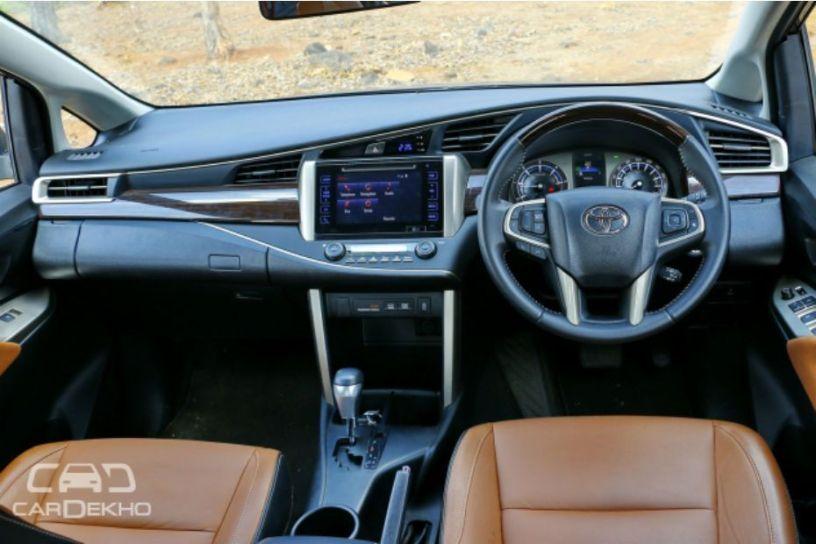Toyota Innova Crysta: Variants Explained