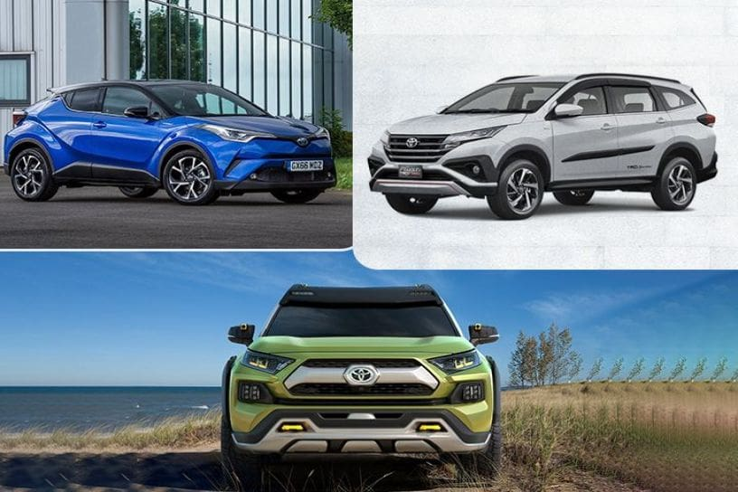 Toyota's Upcoming SUV For India – Will It Be The Rush, C-HR or FT-AC?