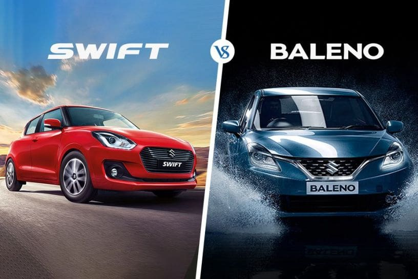 New Maruti Swift 2018 Vs Baleno Which One To Buy Cardekho Com