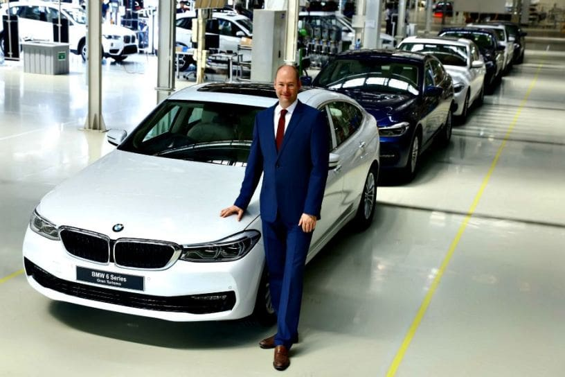 Jochen Stallkamp, Managing Director, BMW Group Plant Chennai
