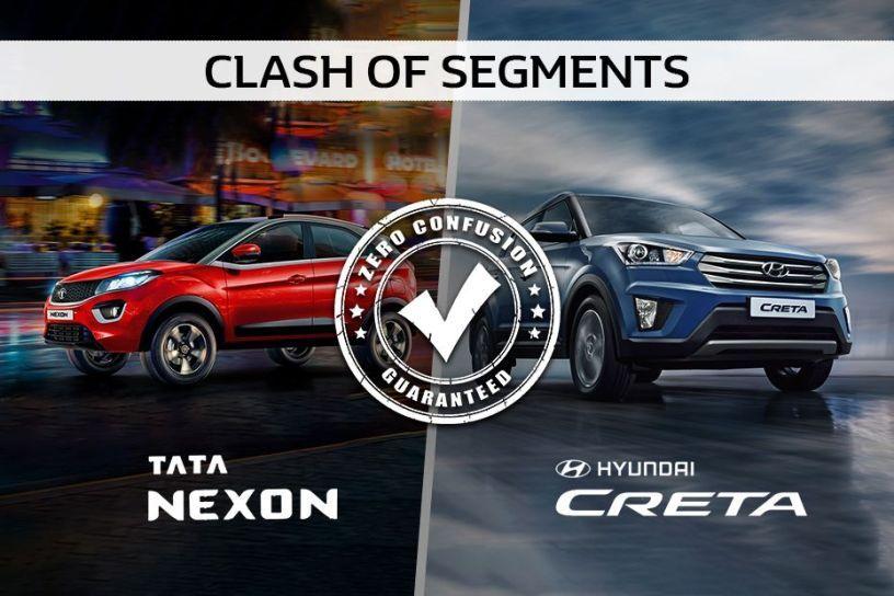 Clash Of The Segments: Tata Nexon Vs Hyundai Creta- Which One To Buy?