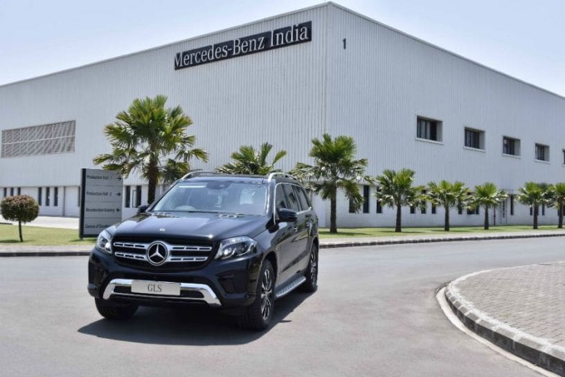 Mercedes-Benz Launches GLS Grand Edition At Rs 86.90 Lakh