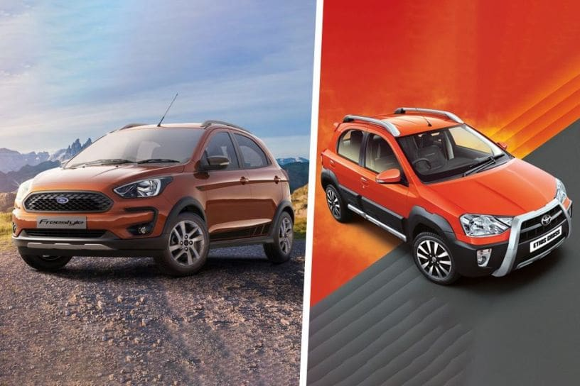 Ford Freestyle vs Toyota Etios Cross